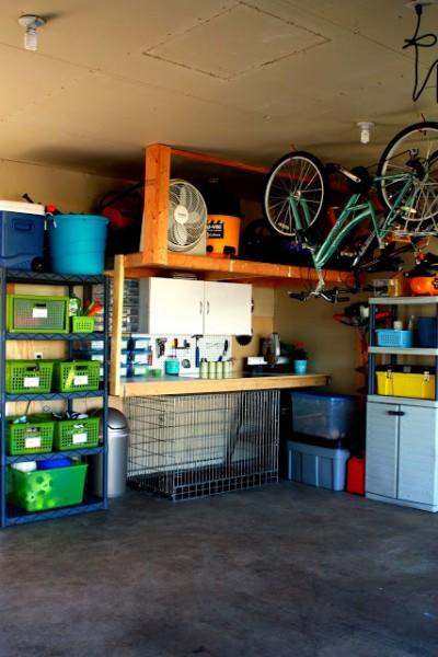 Så rengör och städar du enkelt garaget
