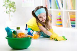 hemstädning med barn - så får du dem att hjälpa till med städningen hemma