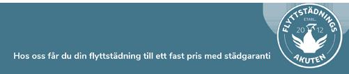 flyttstädningsakuten i östersund slogan